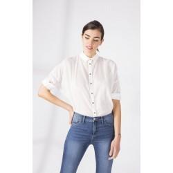 Camisa PAULA CARLITA Blanco